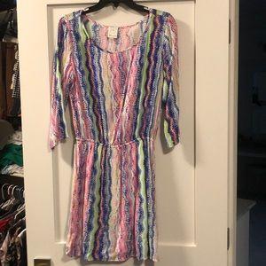 Ella Moss size s multicolored dress